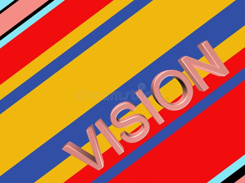 Fond rayé abstrait coloré illustration de vecteur