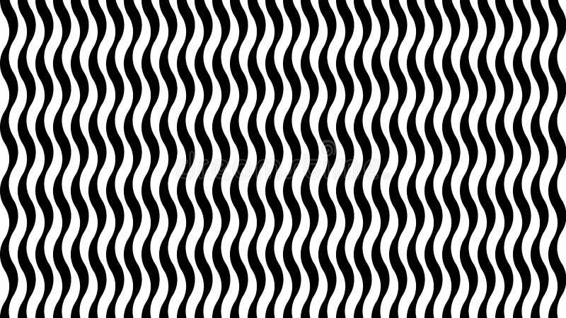 Fond rayé avec la texture onduleuse illustration libre de droits