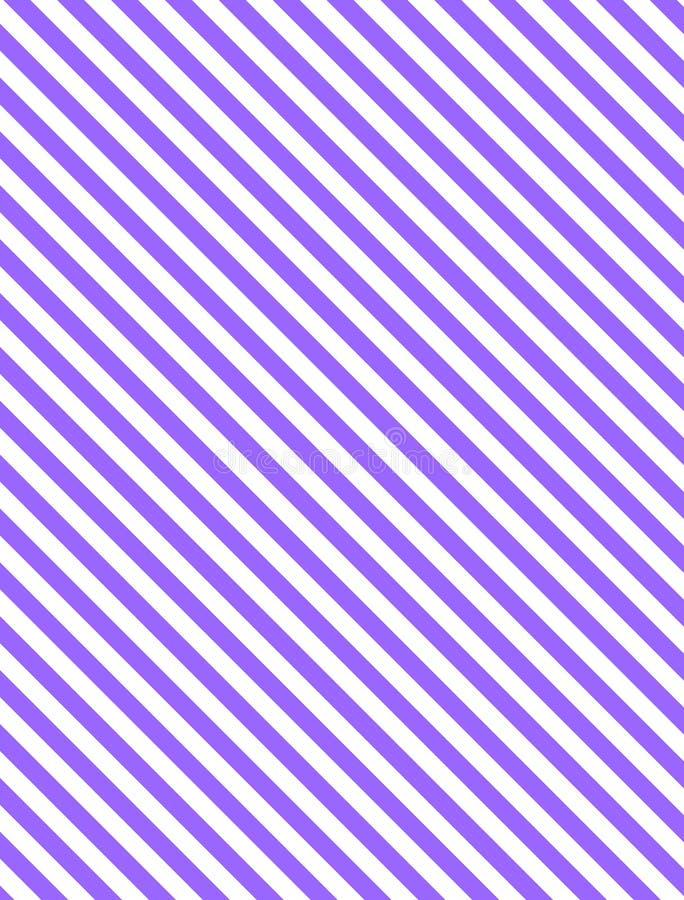 Fond rayé diagonal du vecteur EPS8 dans le pourpre illustration libre de droits