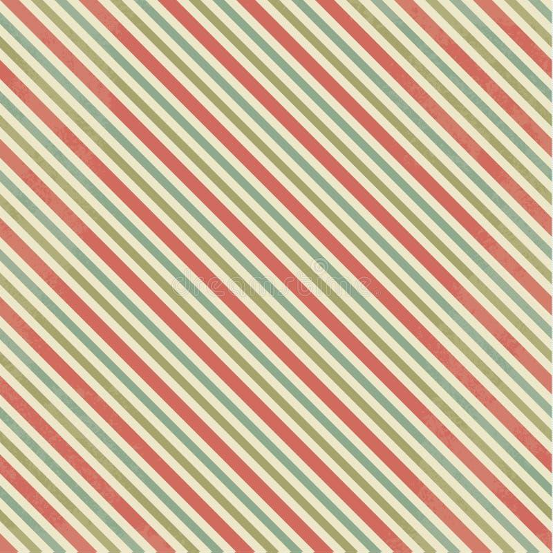 Fond rayé discret de vecteur Backgrond carré abstrait dedans illustration de vecteur