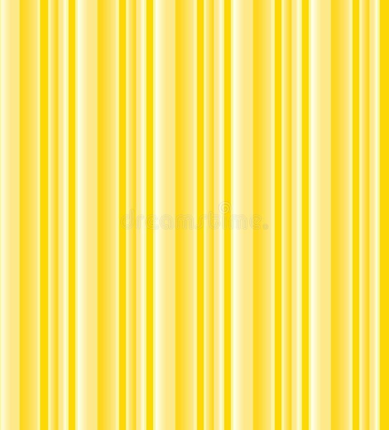 Fond rayé jaune illustration libre de droits