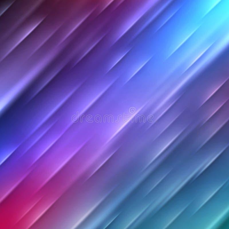 Fond rayé rougeoyant abstrait ENV 10 illustration de vecteur
