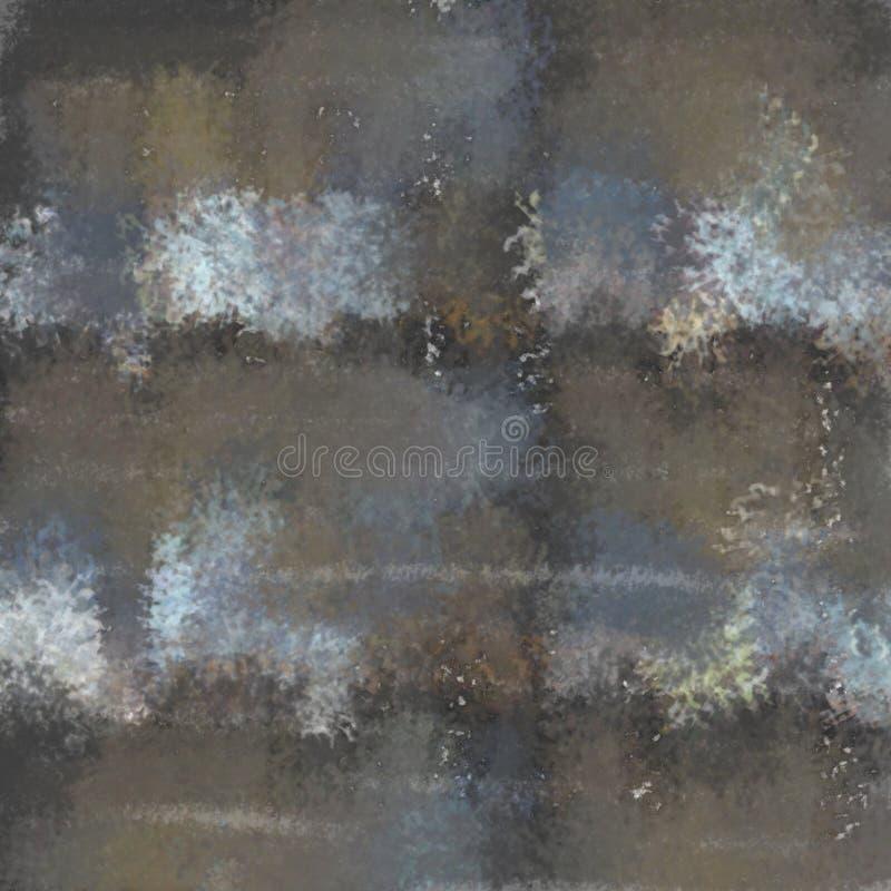Fond repéré abstrait peint par la brosse image libre de droits