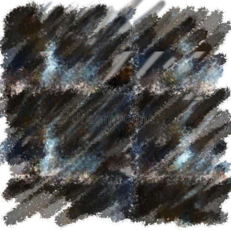 Fond repéré abstrait peint par la brosse image stock
