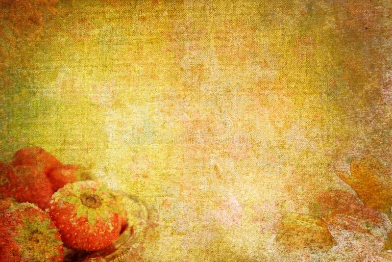 Fond romantique abstrait de cru de Valentine illustration stock