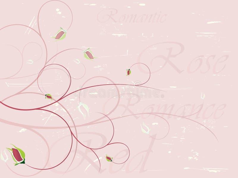 Fond rose élégant illustration de vecteur