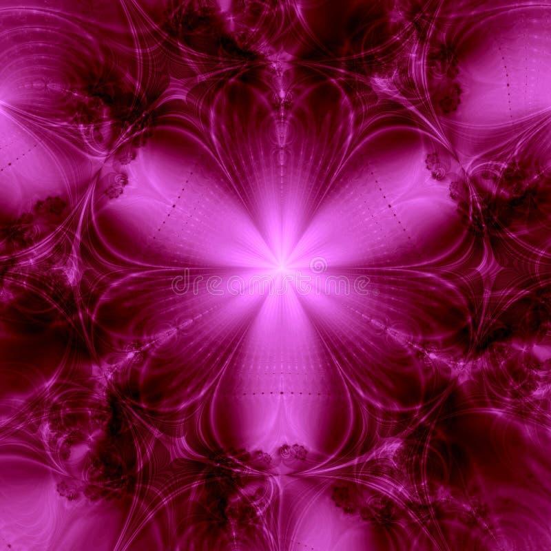 Fond rose élégant d'étincelle illustration stock