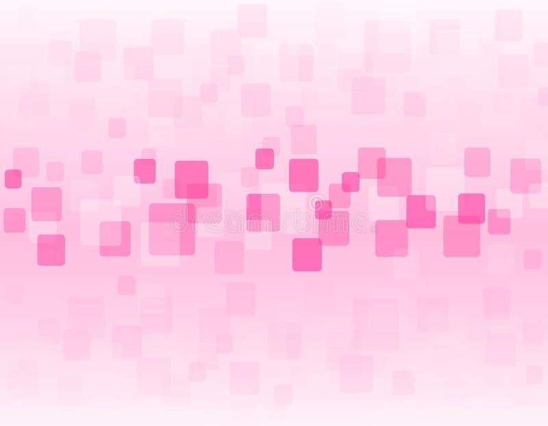 Fond rose illustration de vecteur