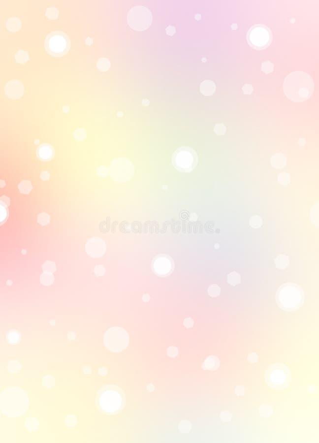 Fond rose avec le pastel illustration libre de droits