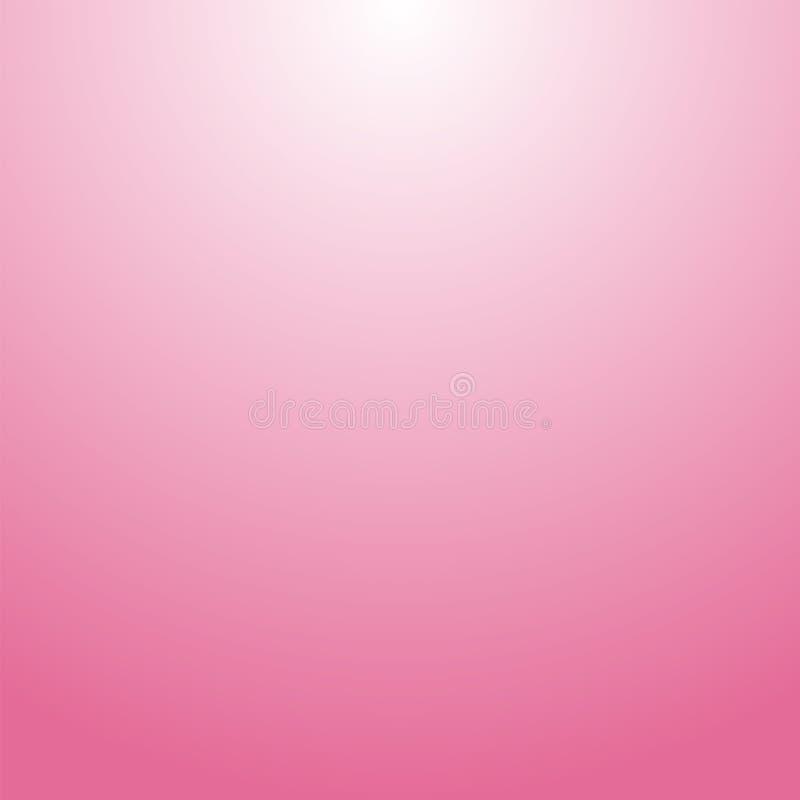 Fond rose Calibre pour le contexte de jour de valentines Taches floues attrayantes Fond de rose de gradient illustration stock
