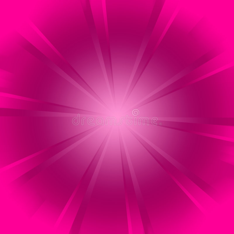 Fond rose de starburst illustration libre de droits