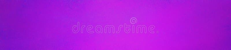 Fond rose pourpre lumineux dans la conception panoramique de rectangle En-tête ou panneau de site Web avec la vieille texture de  photographie stock