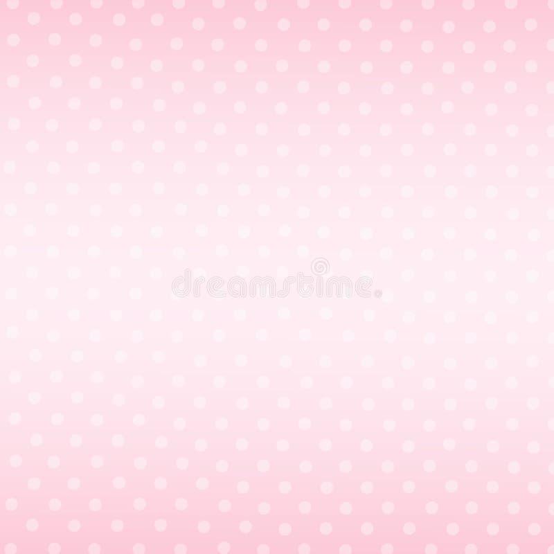 Fond rose Valentine Day Gift Card Holiday d'abrégé sur modèle illustration stock