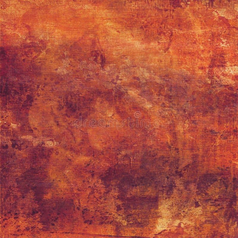 Fond rougeâtre sale illustration libre de droits