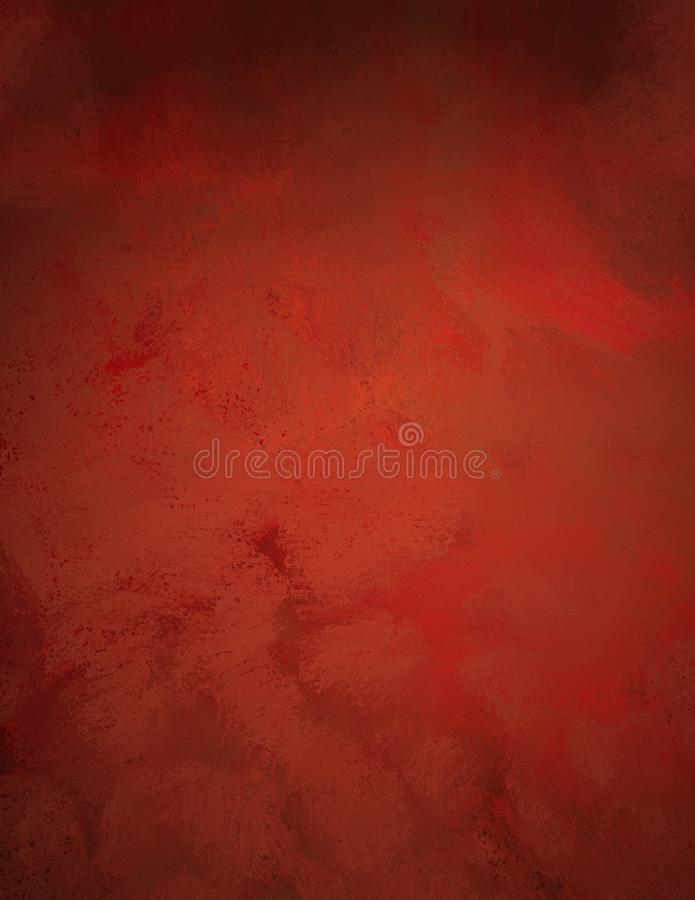 Fond rouge illustration de vecteur
