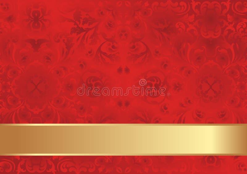 Fond Rouge Photo stock