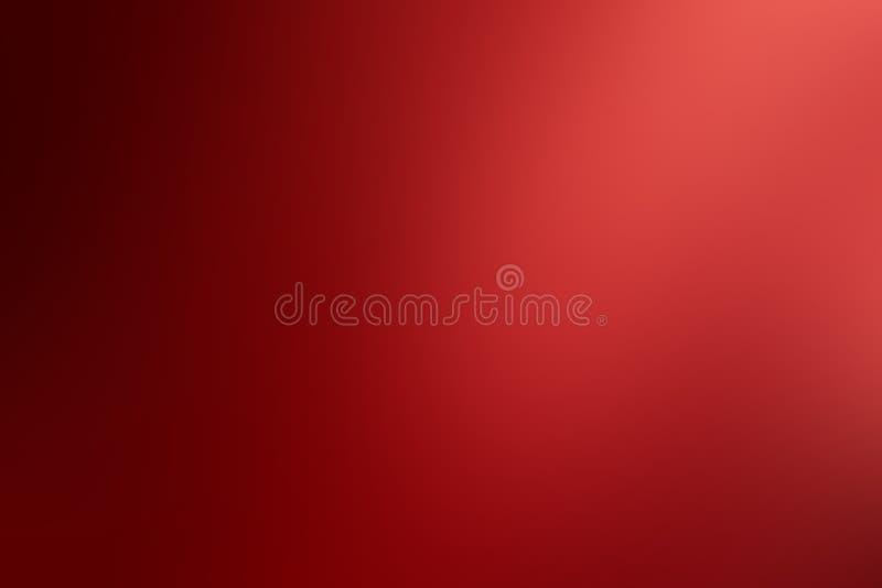 Fond rouge-clair de gradient, papier peint radial rouge d'effet de gradient image libre de droits