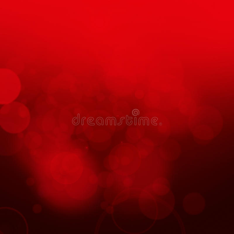 Fond rouge de bokeh illustration stock