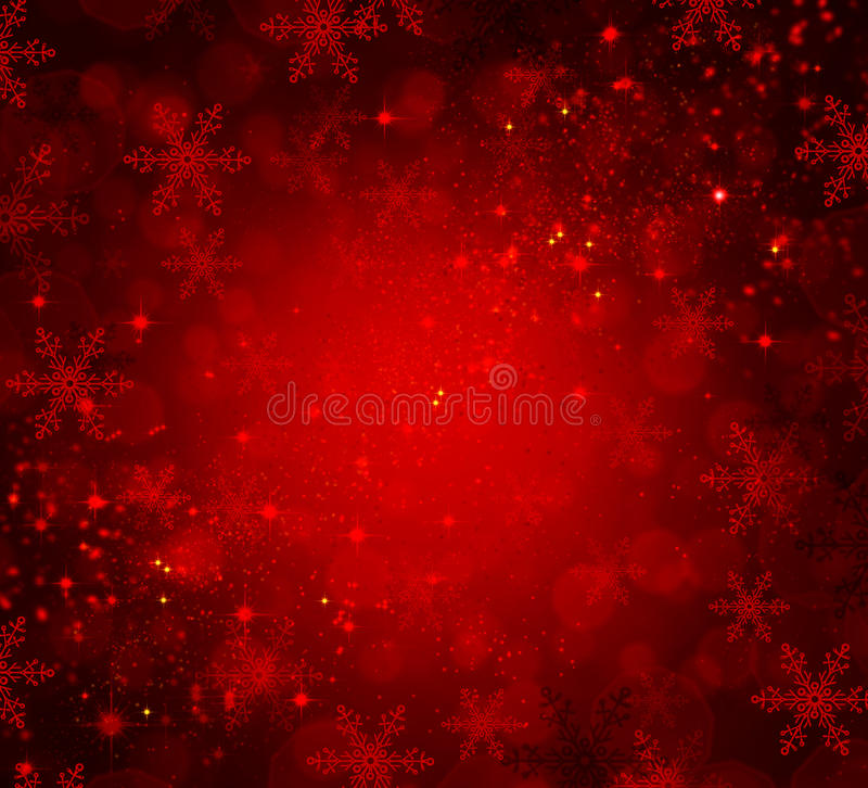 Fond rouge de Noël illustration libre de droits