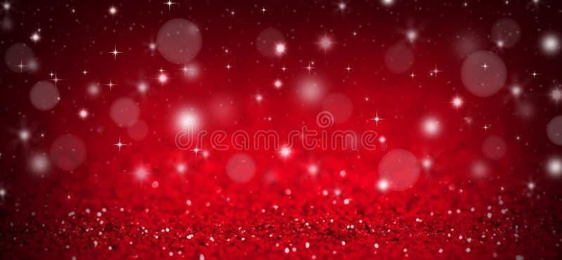 Fond rouge de Noël images libres de droits