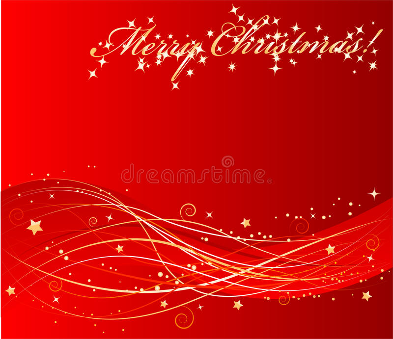 Fond rouge de Noël de vecteur illustration de vecteur