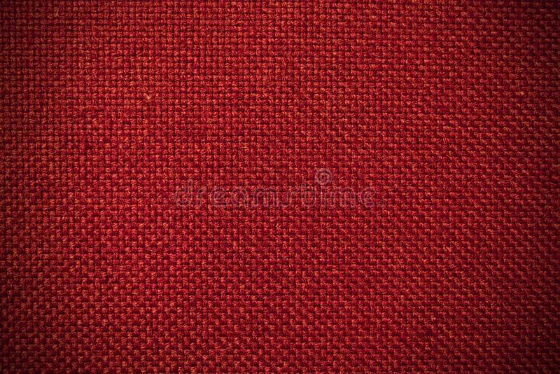 Fond rouge de tissu image stock