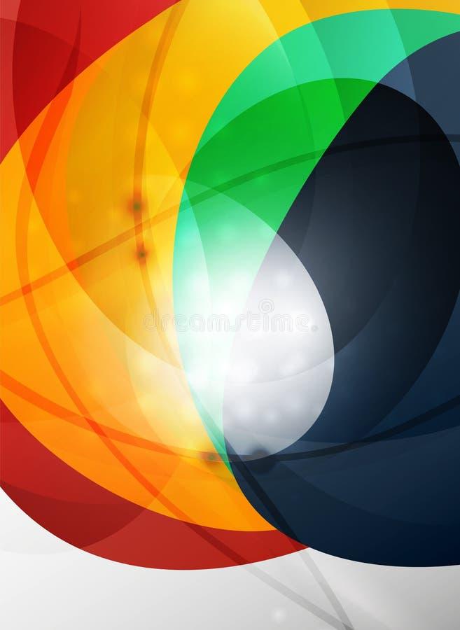 fond rouge et orange de vague de couleur illustration de vecteur image 70225963. Black Bedroom Furniture Sets. Home Design Ideas