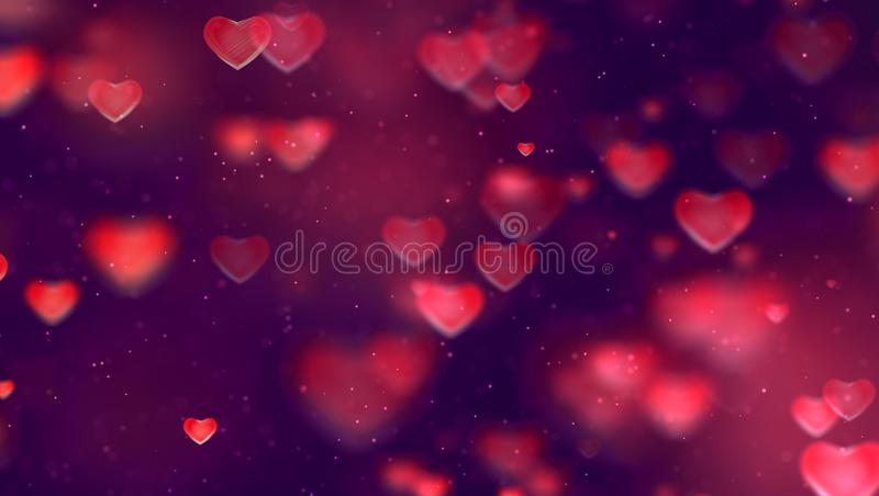 Fond rouge et pourpre W de gradient abstrait de Noël de gradient photos stock