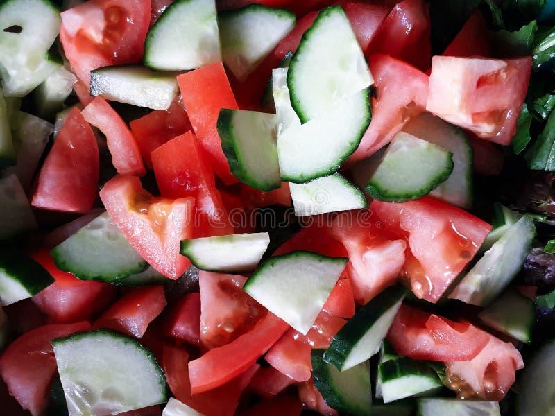 Fond rouge et vert, abstrait de nourriture image stock