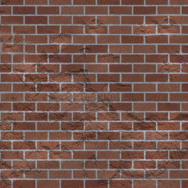 Fond rouge porté sale de texture de mur de briques image stock