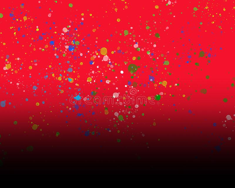 Fond rouge pour l'édition de photo illustration stock