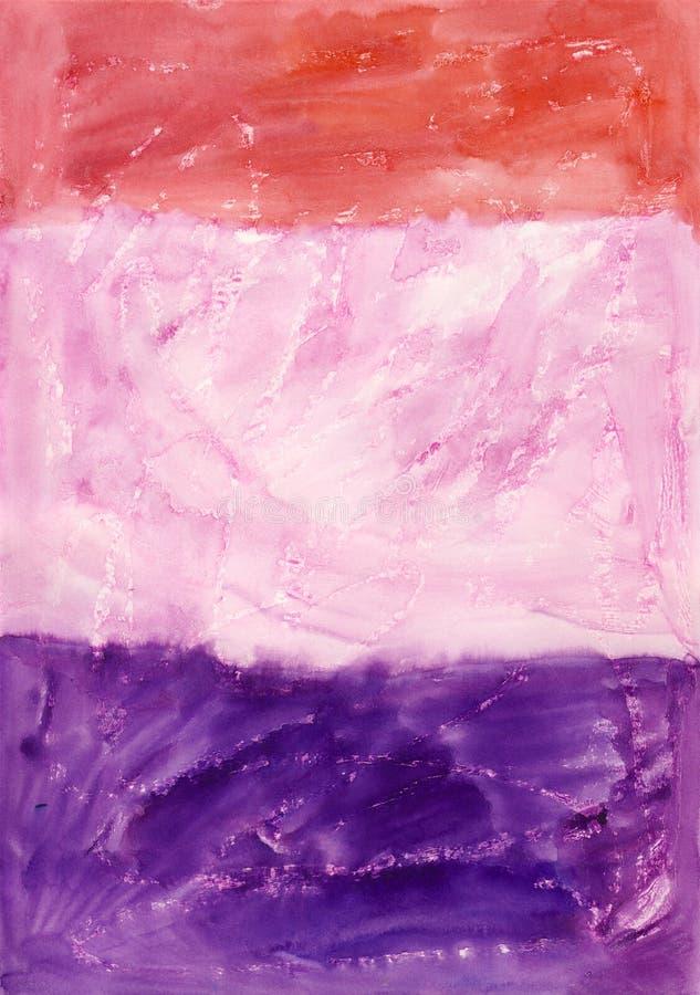 Fond Rouge-Rose-Mauve photographie stock libre de droits