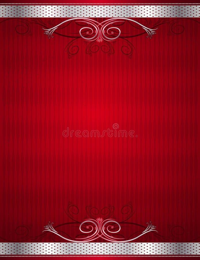 Fond rouge, vecteur illustration de vecteur