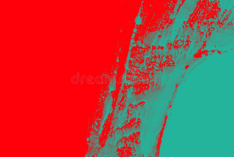 Fond rouge vert bleu de courses de pinceau photo stock