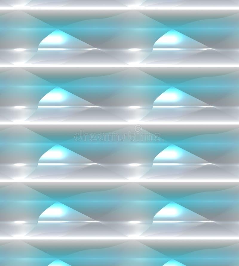 Fond rougeoyant, bleu coloré, vert, blanc et pourpre avec construit dans l'effet de la lumière illustration de vecteur