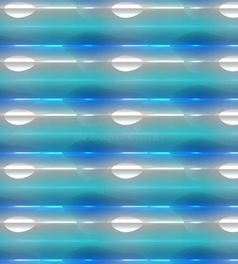 Fond rougeoyant, bleu coloré, vert, blanc et pourpre avec construit dans l'effet de la lumière illustration libre de droits