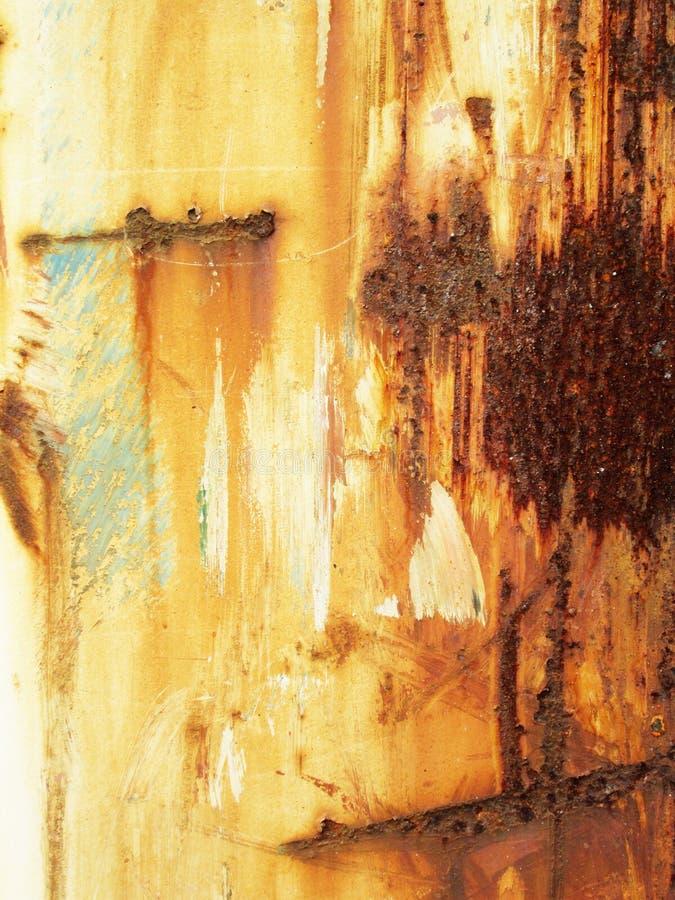 Fond rouillé de grunge en métal Modèle en acier rouillé d'abrégé sur bidon images libres de droits