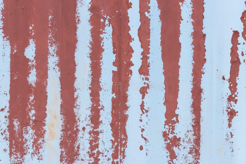 Fond rouillé de peinture d'épluchage de mur image libre de droits
