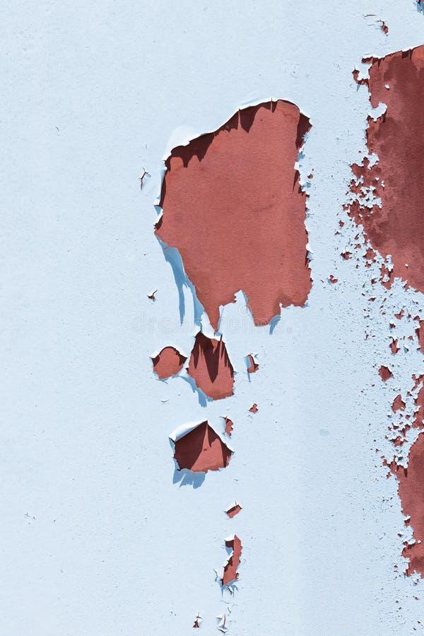 Fond rouillé de peinture d'épluchage de mur photo libre de droits