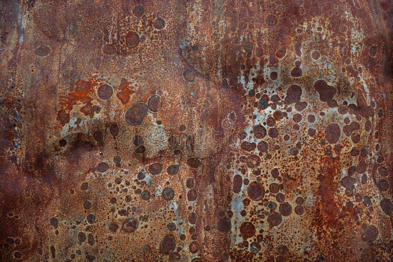 Fond rouillé en métal d'abrégé sur bidon images libres de droits