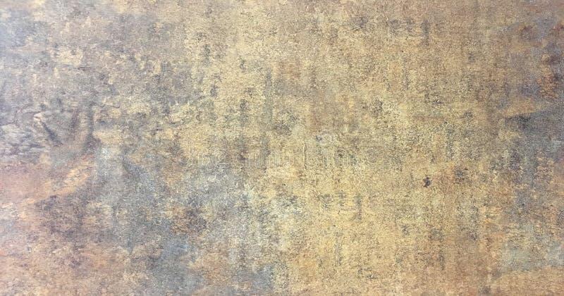 Fond rouillé porté foncé de texture en métal Scratched a balayé le fond de texture en métal image libre de droits