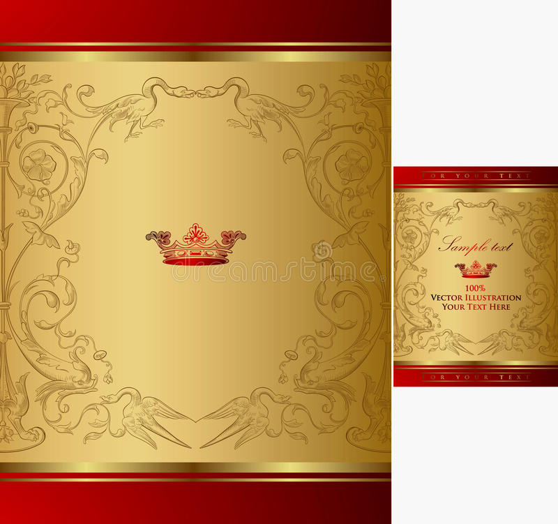 Fond royal de trame illustration stock