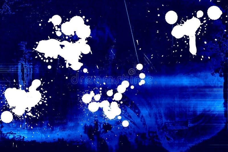 Fond sale bleu-foncé illustration libre de droits