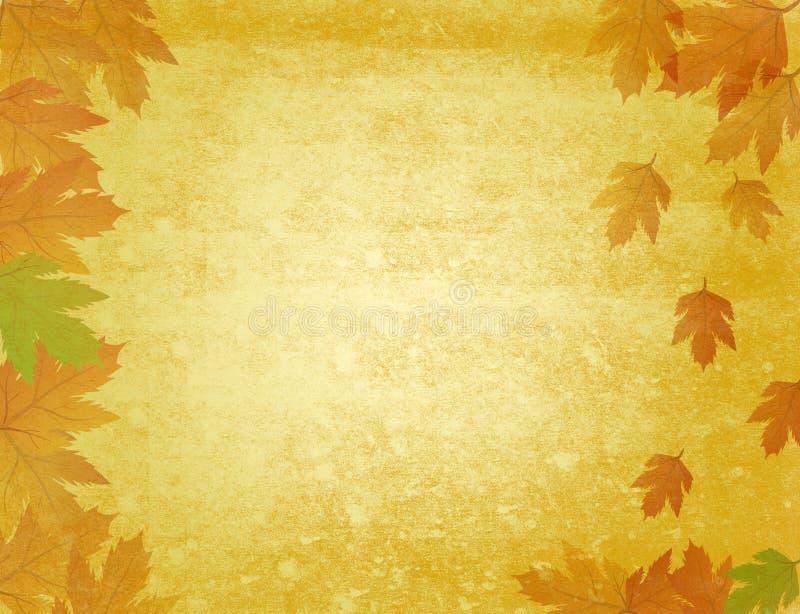 Fond sale d'automne illustration libre de droits