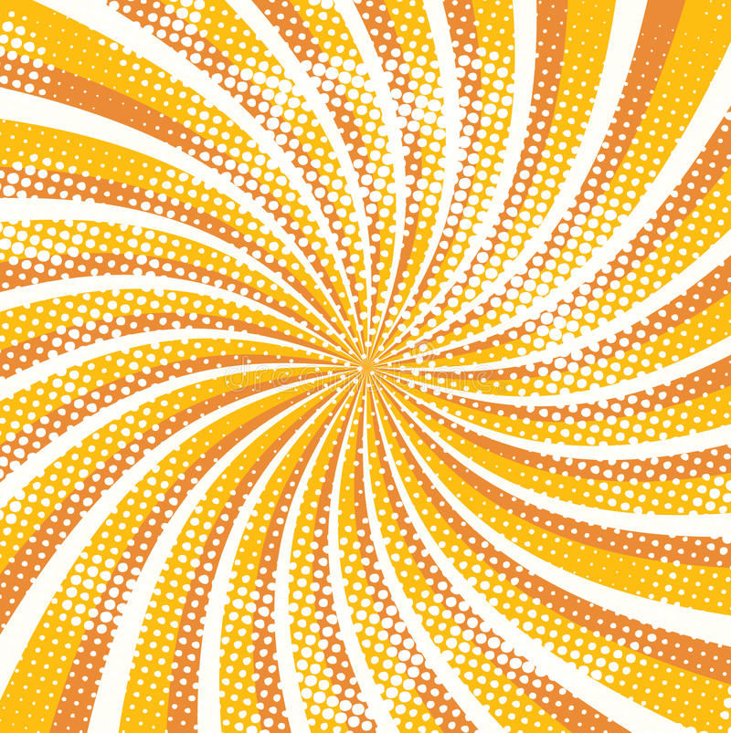 Fond sale de rayon d'été illustration de vecteur