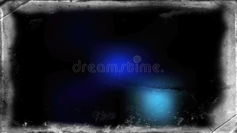 Fond sale noir et bleu photos stock