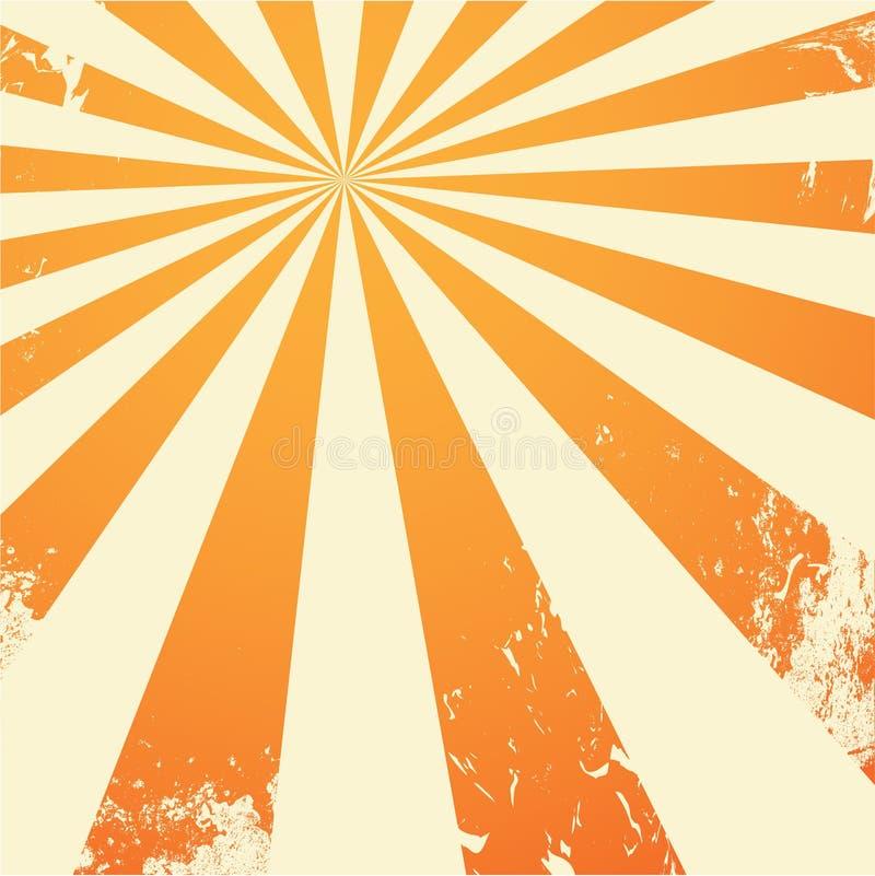 Fond sale orange illustration stock