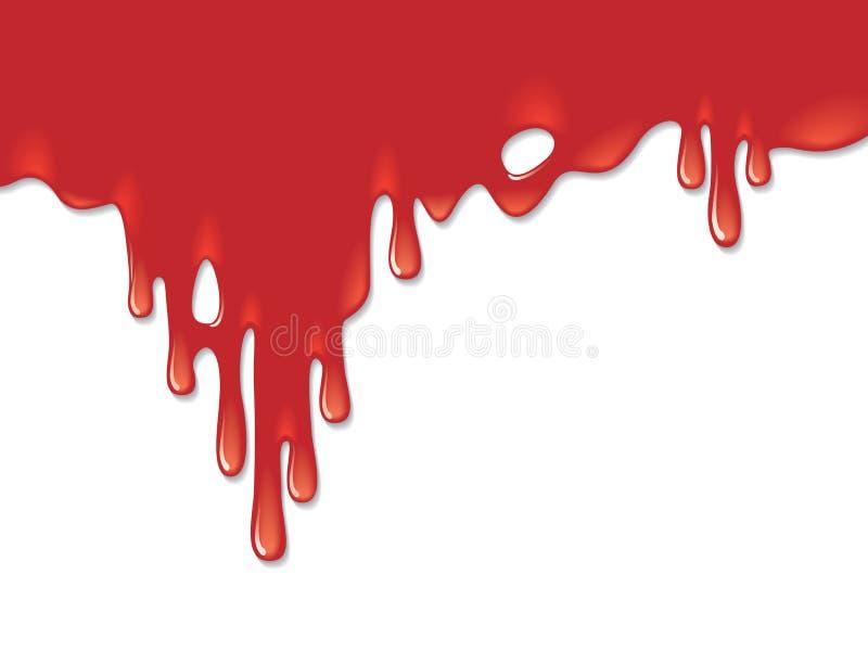 Fond sanglant illustration de vecteur