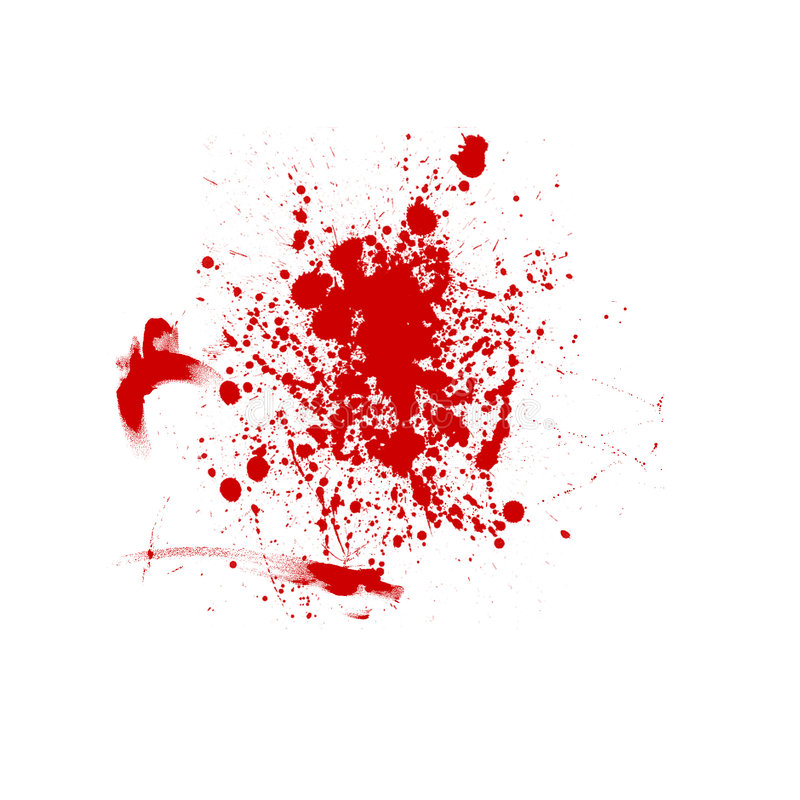Fond sanglant illustration stock