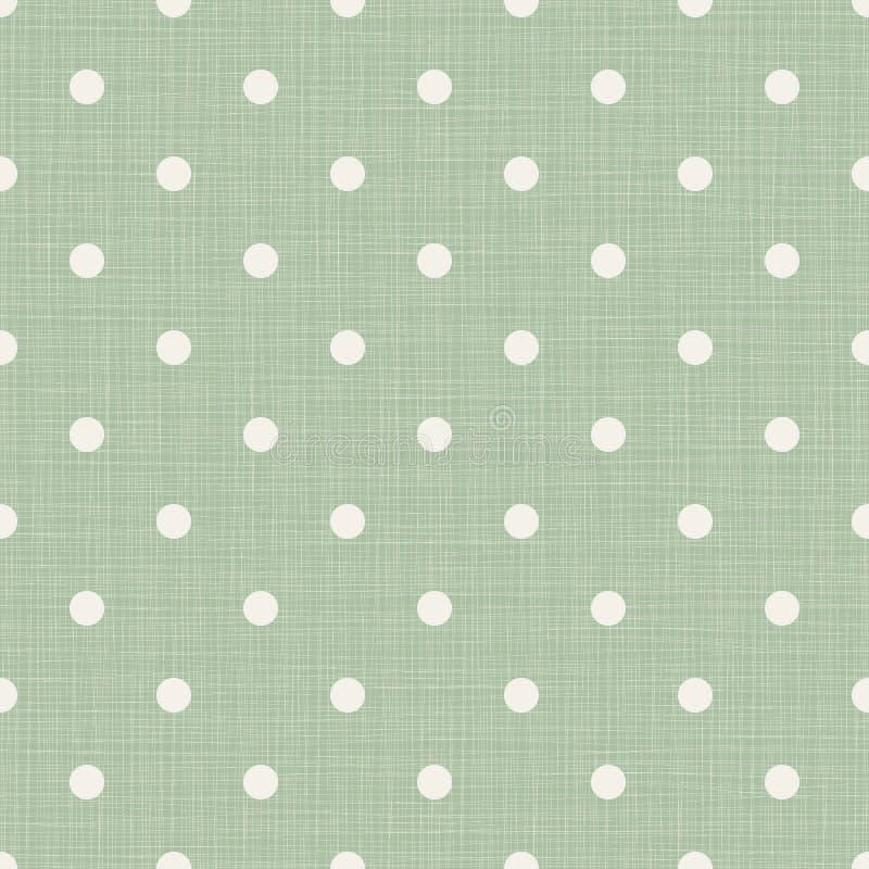 Fond sans couture avec des lignes et des points de polka illustration stock
